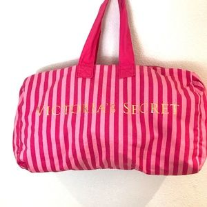 Victoria's Secret Duffle Bag Gym Beach Large Tote
